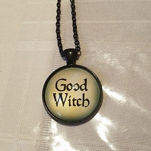 New good witch necklace
